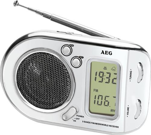 AEG WE 4125 white radio, radiopulksteņi