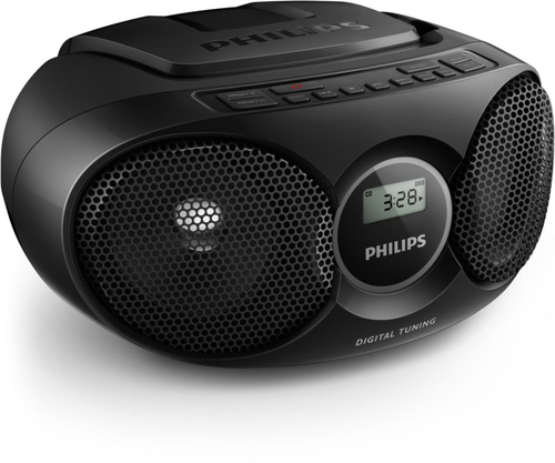 Philips AZ215B/12 Black magnetola