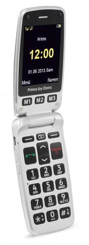 Doro Primo 413 silver Mobilais Telefons