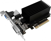 PALIT GeForce GT 730, 2GB SDDR3 (64 Bit), HDMI, DVI, D-Sub video karte