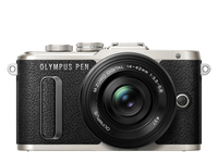Olympus PEN E-PL8 + 14-42mm EZ Pancake Kit System, 16.1 MP, Image stabilizer, ISO 25600, Display diagonal 7.62 cm, Video recording, Wi-Fi, T Spoguļkamera SLR