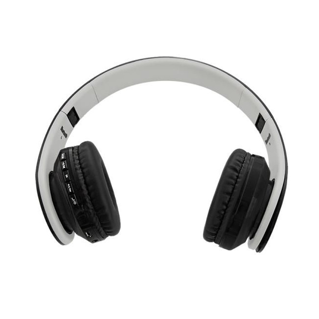 Qoltec BT wireless stereo headphone + microphone | FM | TF | Black austiņas