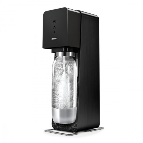 SodaStream SOURCE Black Metal  (Incl. 60 CO2 + 1 btl) Virtuves piederumi