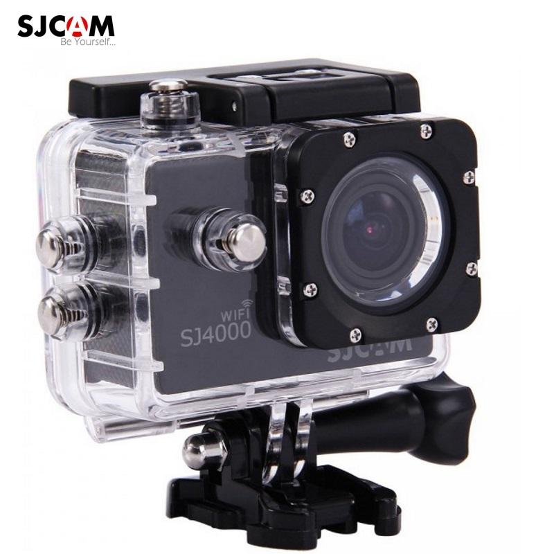 SJCam SJ4000 Wi-Fi Ūdendroša 30m Sporta Kamera 12MP 170 grādi 1080p HD 30fps 2.0