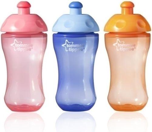 Tommee Tippee Essential Basics Sports Bottle 300ML (TT0291) piederumi bērnu barošanai