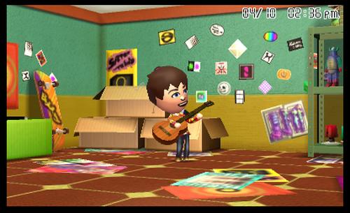 Tomodachi Life 3DS Spiel spēle