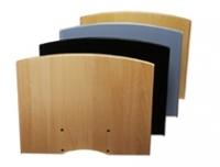 SMS Flat shelf H Black+Consol