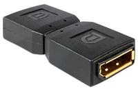 Delock adapter Displayport female > Displayport female Gender Changer karte