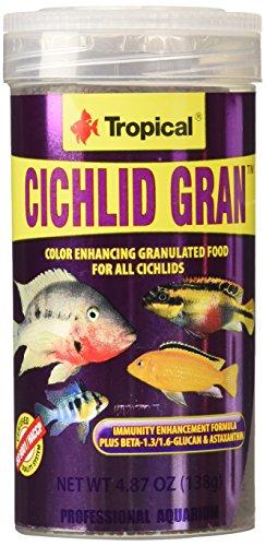 Tropical Cichlid Gran 250ml zivju barība
