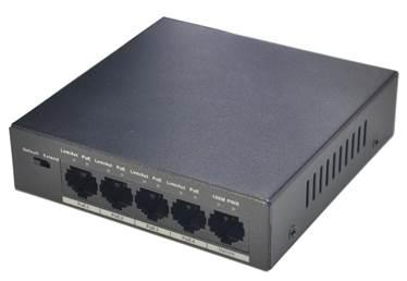 NET SWITCH 4PORT 4POE 10/100/PFS3005-4P-58 DAHUA komutators