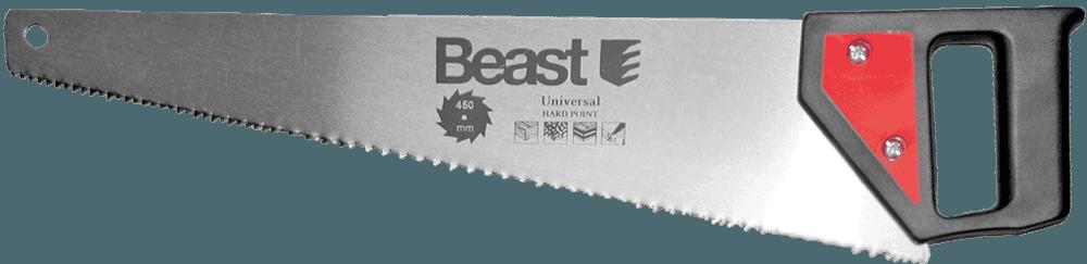 Beast Rokas zagis 450mm ar ruditiem zobiem