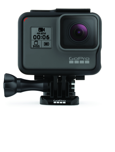 GoPro HERO6 Black Built-in display, Built-in microphone, Waterproof, Touchscreen, Removable 1220mAh lithium-ion rechargeable, Wi-Fii sporta kamera