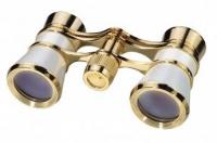 Bresser Scala MPG 3x25 weiss/gold Binokļi