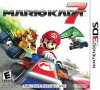 Mario Kart 7 3DS Spiel spēle