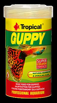 Tropical Guppy 100ml zivju barība