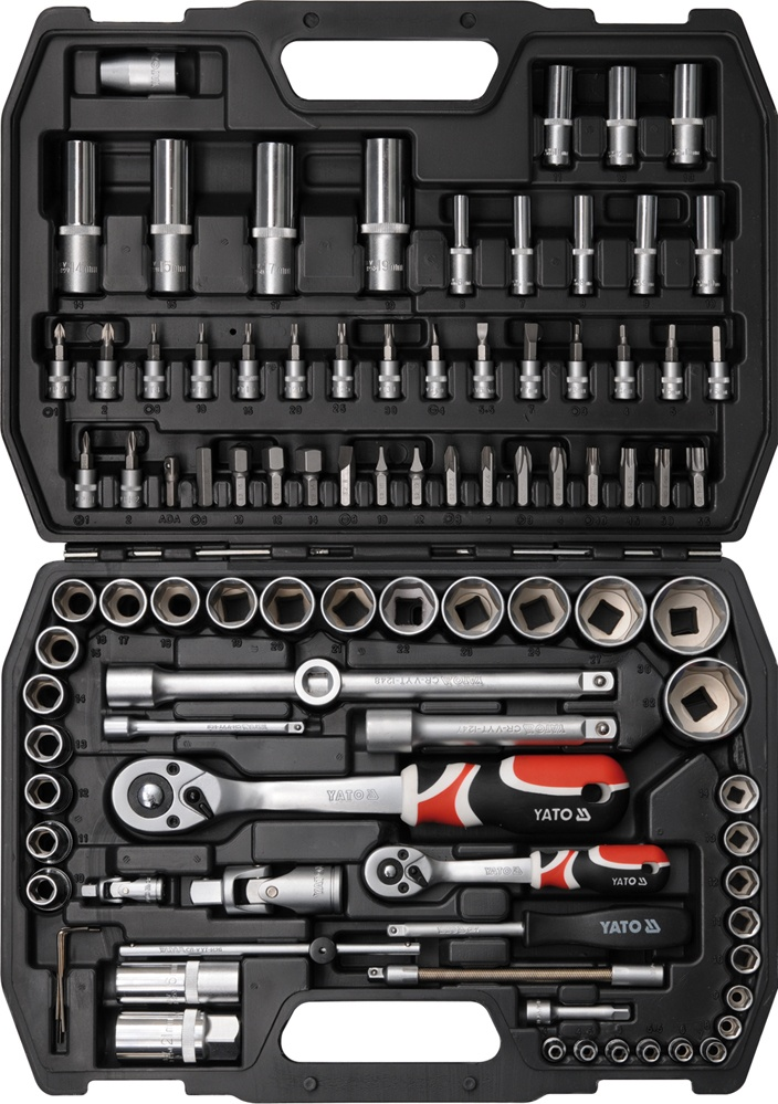 YATO TOOL SET 1/2 AND 1/4 94 YT-1268