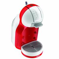 DeLonghi Dolce Gusto MINIME EDG305WR Coffee maker, White/Red Kafijas automāts