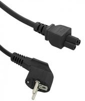 Qoltec AC power cable | 3pin | S03/ST1 | 1.4m portatīvo datoru lādētājs