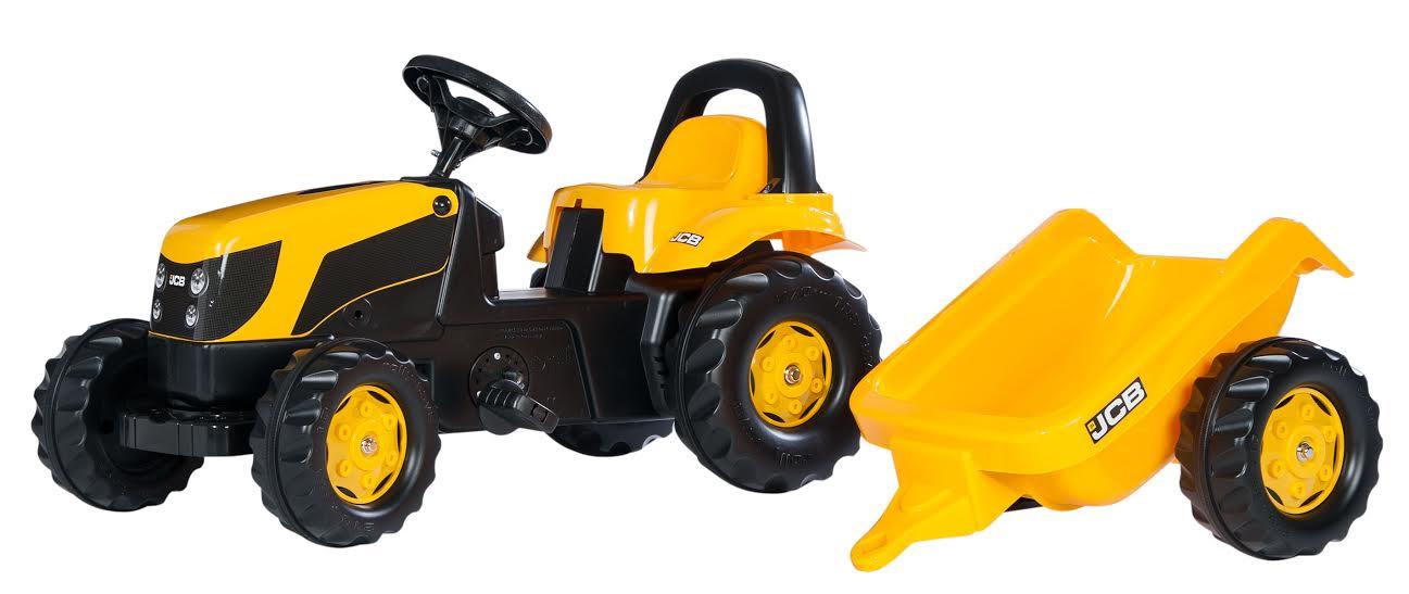 Traktors ar pedāļiem rollyKid JCB (2.5-5g.)