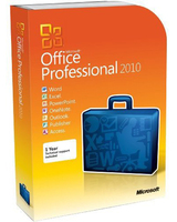 Microsoft Office 2010 Professional Plus License/Software Assurance Pack Single Language, Government (GOV)