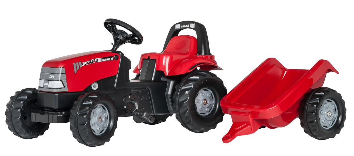 Traktors ar pedāļiem rollyKid Case 1170CVX (2.5-5g.)