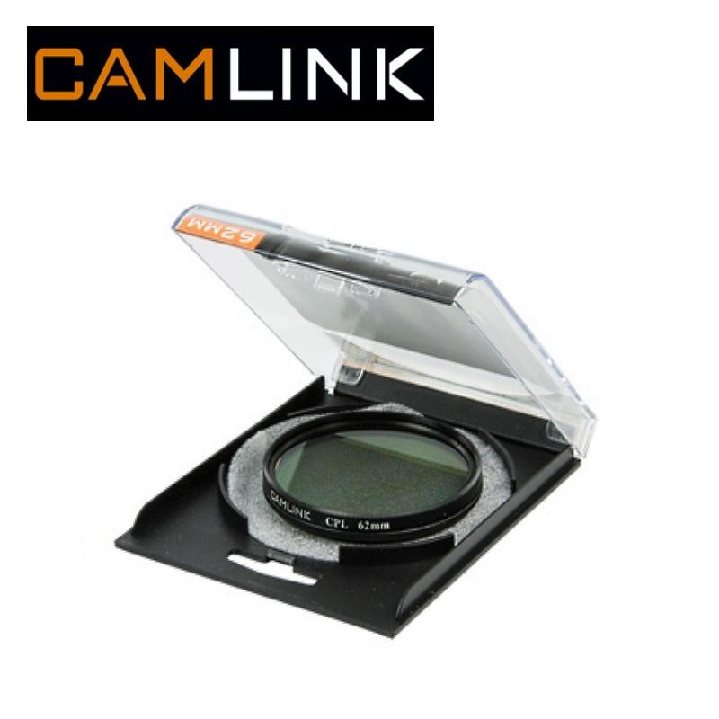 Camlink CML-CL-62CPL Cirkul rais polariz cijas filtrs pret a UV Filtrs