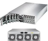 3U Chassis, 2 x 1GbE,1 USB 3.0, 2000W Redundant Power serveris