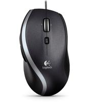 Logitech M500 Corded Laser Mouse Black Datora pele