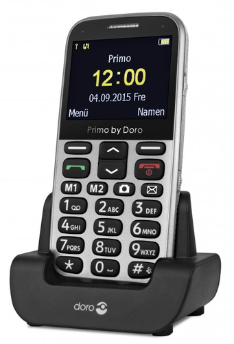 Doro Primo 366 silver Mobilais Telefons