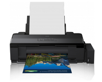 Epson L1800 ITS A3+ Colour Inkjet Photo Printer / 5760x1440dpi / Print: up to A3+ / Connectivity: USB printeris