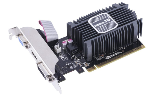 Inno3D GeForce GT 730, 2GB SDDR3 (64 Bit), HDMI, DVI, D-Sub video karte
