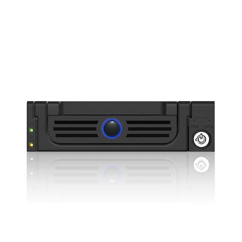 RaidSonic ICY BOX IB-128SK-B HDD black cietā diska korpuss
