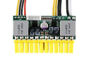 Adapter Eurocase DC/DC (in 12V/out ATX 150W pico PSU) mini ITX Barošanas bloks, PSU