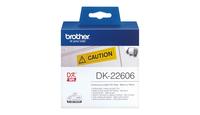 Tape Brother Film Yellow Fim tape 62mm x 15.24 M biroja tehnikas aksesuāri