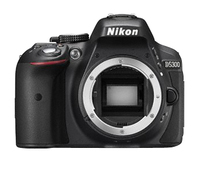 Nikon D5300 Black, TTL, TFT, CMOS, ISO sensitivity (max) 25600, SLR Camera Body, Image sensor size (W x H) 23.5 x 15.6 mm, Maximum video res Spoguļkamera SLR