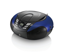 Lenco SCD-37 USB blue radio, radiopulksteņi