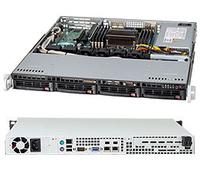 Obudowa serwerowa Supermicro 1U CSE-813MTQ-441CB