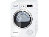 Bosch WTW855R9SN Heat pump, A++, Self-cleaning, White Veļas žāvētājs