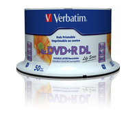 Verbatim DVD+R DL 97693 wide 1x50 8x Speed 8.5GB Life Series matricas