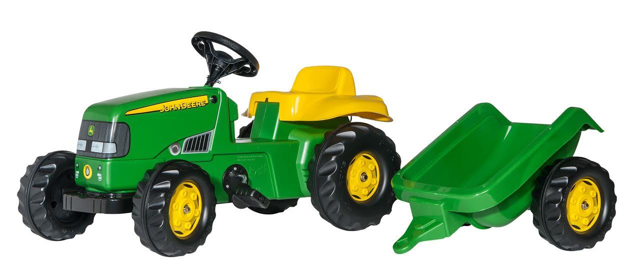 Traktors ar pedāļiem rollyKid John Deere (2.5-5g.)