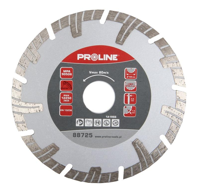 Proline Dimanta disks PTT 125x22mm turbo T