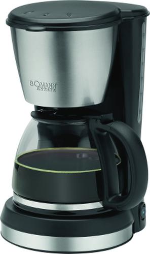 Bomann KA 1369 CB Estate 900W 1.5l black / inox Kafijas automāts