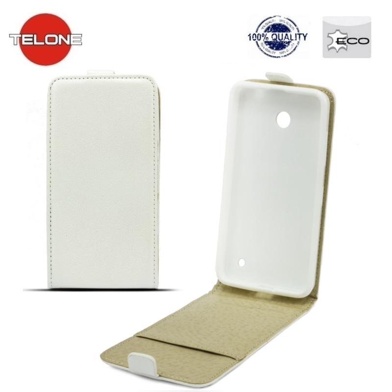 Telone Shine Pocket Slim Flip Case HTC Desire 820 telefona maks vertik li atverams Balts ( A TL SHFC H D820 WH A TL SHFC H D820 WH 12963 A TL SHFC H D820 WH ) aksesuārs mobilajiem telefoniem