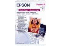 Paper Epson Epson Matte Heavyweight | 167g | A3+ | 50sheets foto papīrs