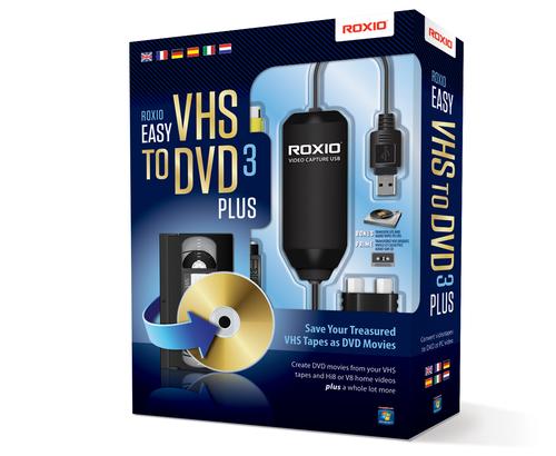 Corel Roxio Easy VHS to DVD 3 Plus adapteris