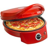 Bestron APZ400 Pizza Ofen rot