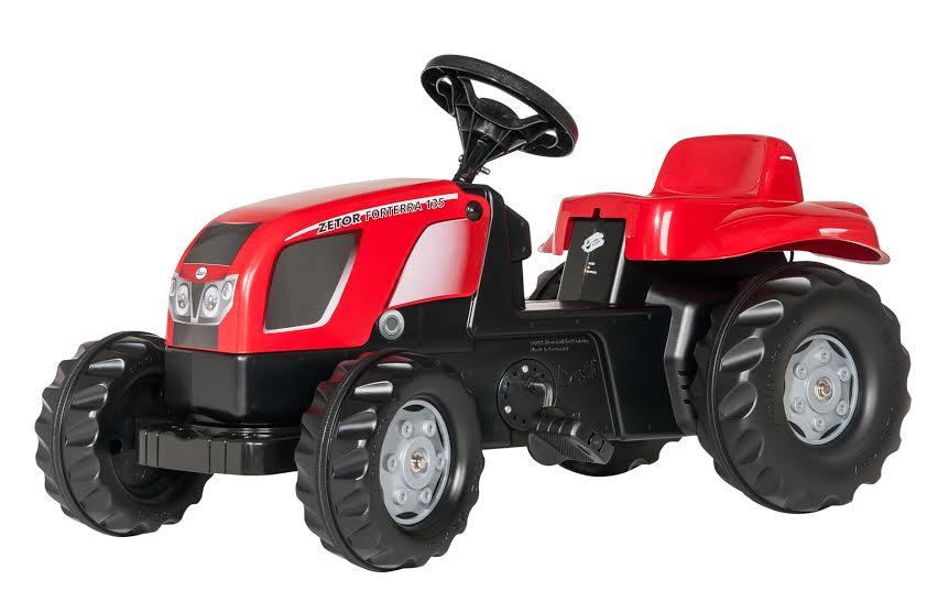 Traktors ar pedāļiem rollyKid Zetor Fortera 135 (2.5-5g.)