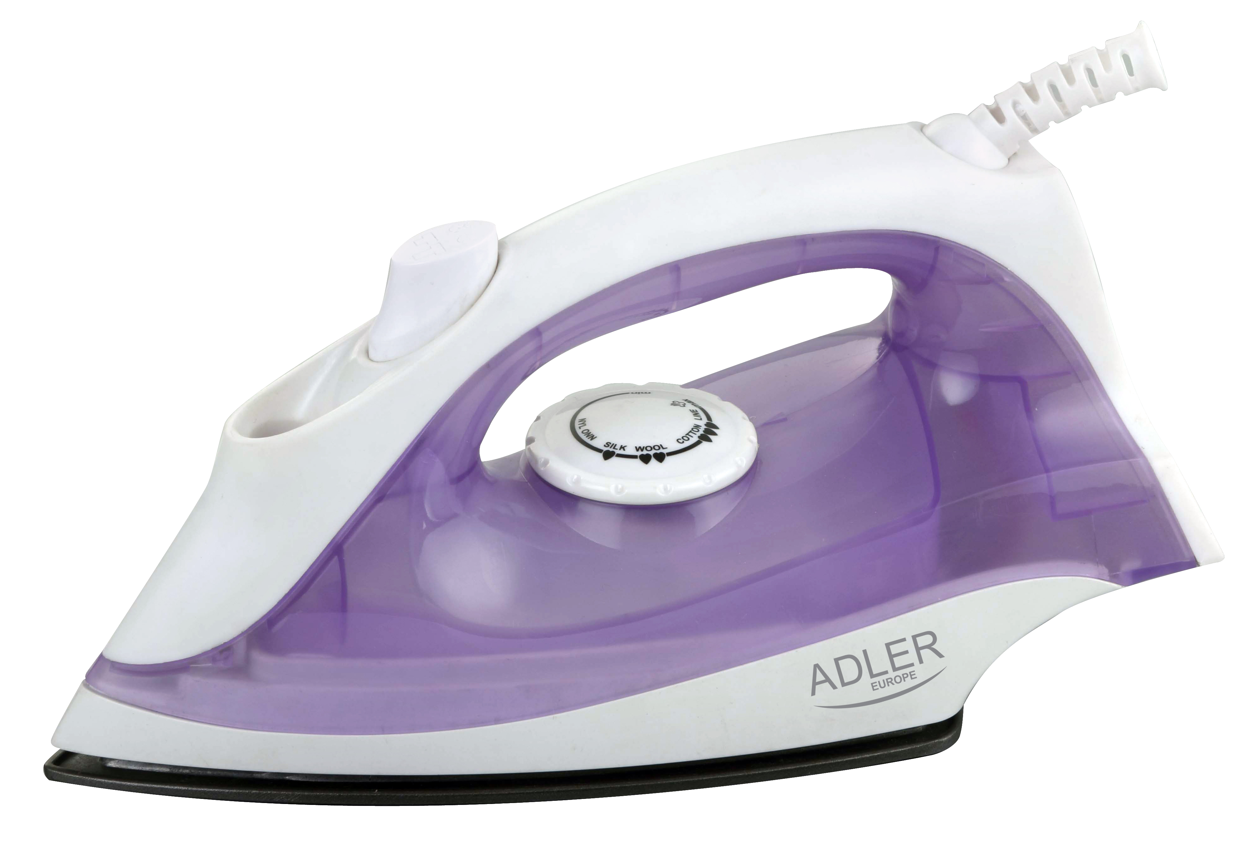 aelazko Adler AD 5019(1600W /white-Purple) ritēšanas iekārtas (Taukvāres katls)