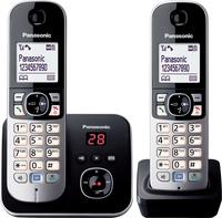 Panasonic KX-TG6822GB Duo Schnurlostelefon with AB + 2. Mobilteil telefons