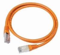 Gembird patchcord RJ45, cat.5e, UTP, 0.25m, orange tīkla kabelis